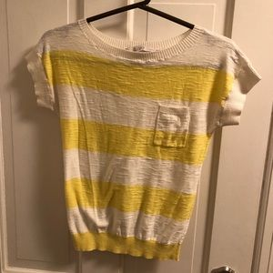 Short sleeve sweater top from the loft!